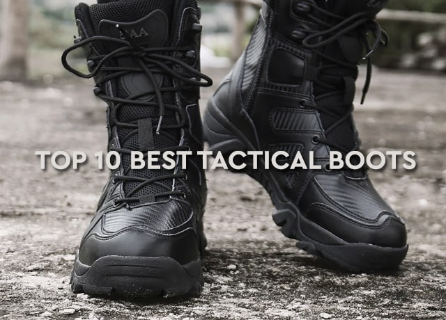Top Rated 10 Best Tactical Boots 2020 Reviews