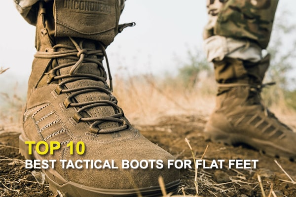 Top 10 Best Tactical Boots For Flat Feet REVIEWS
