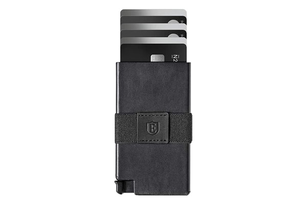 best tactical wallet Ekster Senate - Slim Leather Wallet - RFID Blocking - Quick Card Access