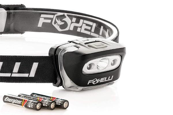 best tactical headlamp Foxelli Headlamp Flashlight