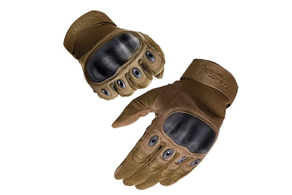 best tactical glove FREETOO Work Gloves Men Protection Gloves for Hiking