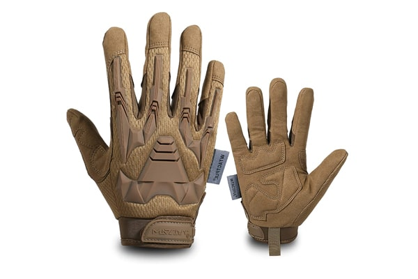 best tactical gloves TACTFUL Touch Screen Motorcycle Full Finger Gloves