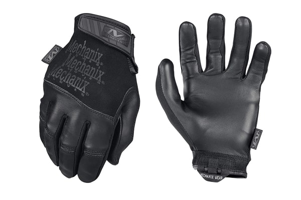 best tactical gloves Mechanix Recon Black Gloves
