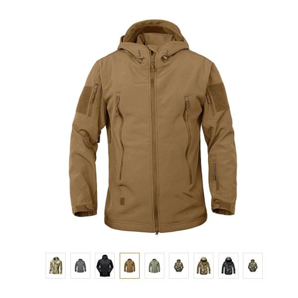 DLP Tactical Stalker Soft Shell Waterproof & Windproof Fleece Hooded Jacket