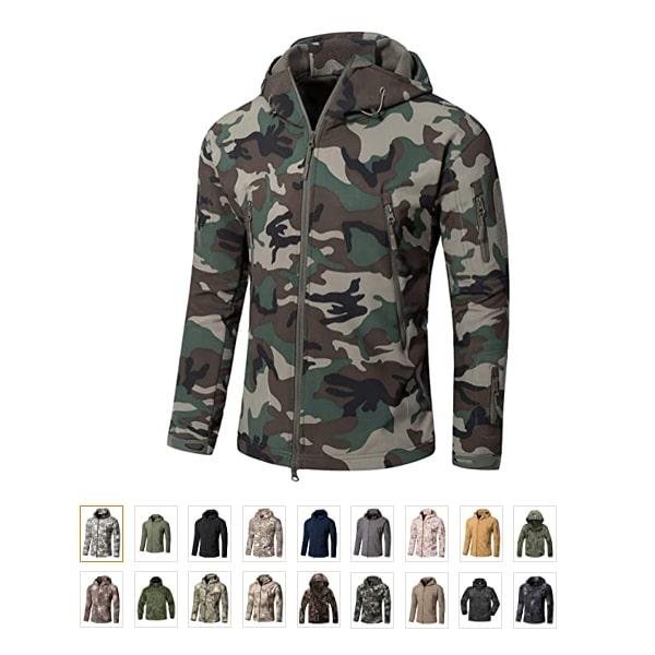 YFNT Men's Military Tactical Jackets
