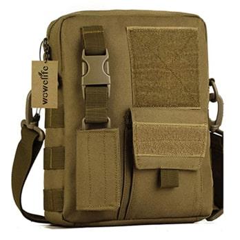 Wowelife Small Canvas Messenger Bag