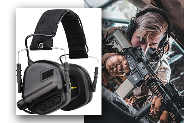 OPSMEN Hearing Protection Headphones for Shooting